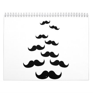 Flying Mustaches Wall Calendars