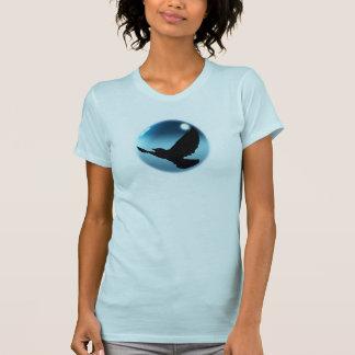 Flying Mystical Black CROW Art Fashion Shirt
