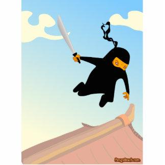 Flying Ninja Statuette