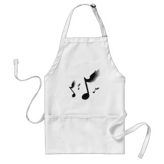 Flying Notes Adult Apron