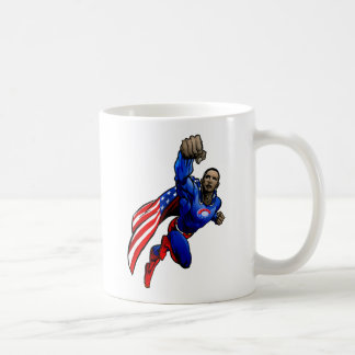Flying Obama Coffee Mug