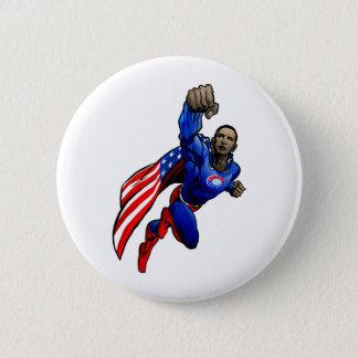 Flying Obama Pinback Button