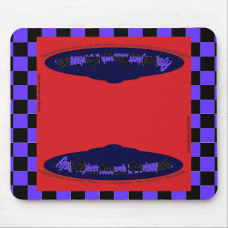 Flying Objects Research & Development Mouse Pad