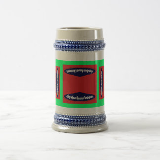 Flying Objects Research & Development 18 Oz Beer Stein