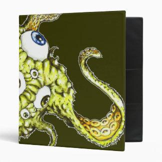 Flying Octopus Eyeball..........Thing Vinyl Binder