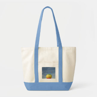 Flying on top of the world! xlta canvas bag
