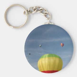 Flying on top of the world! xlta basic round button keychain