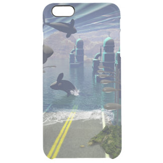 Flying orcas uncommon clearly™ deflector iPhone 6 plus case