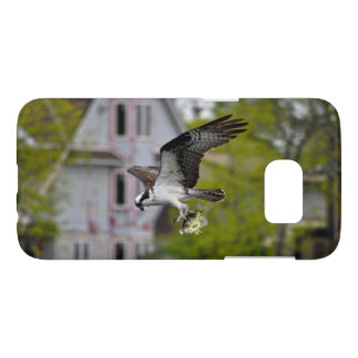 Flying Osprey Carrying Sun Fish Samsung Galaxy S7 Case