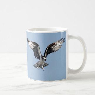 Flying Osprey Classic White Coffee Mug