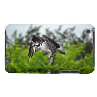 Flying Osprey & Fish Forest Wildlife Photo Scene Barely There iPod Cover