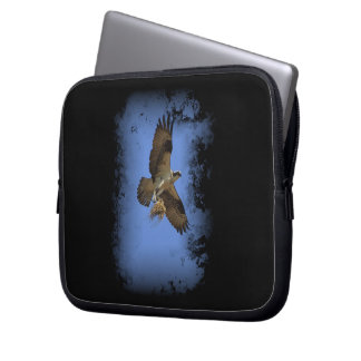 Flying Osprey (Fish Hawk) Laptop Sleeve