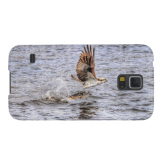 Flying Osprey & Fish HDR Wildlife Photo Gift Galaxy S5 Covers