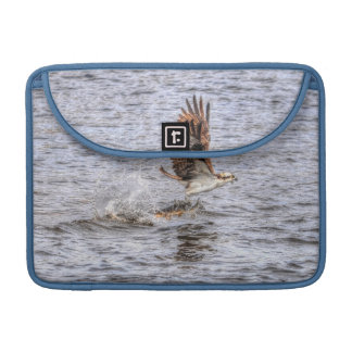 Flying Osprey & Fish HDR Wildlife Photo Gift MacBook Pro Sleeve