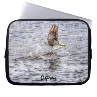 Flying Osprey & Fish Wildlife Photo Gift Computer Sleeve