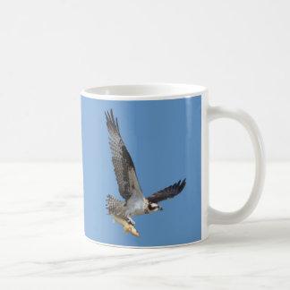 Flying Osprey & Fish Wildlife Photography Mugs