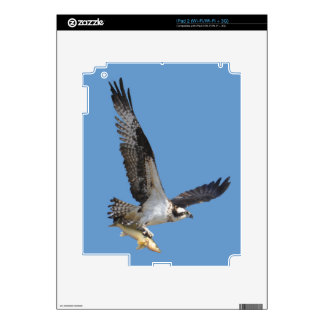 Flying Osprey & Fish Wildlife Photography Skin For The iPad 2
