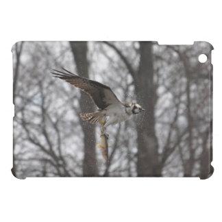 Flying Osprey Hunting for Fish iPad Mini Cover