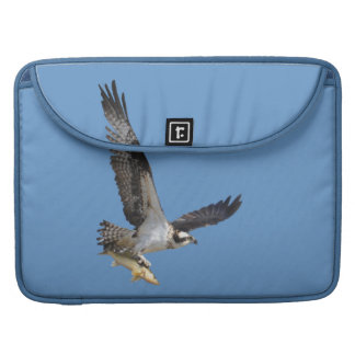 Flying Osprey Hunting for Fish Sleeves For MacBook Pro