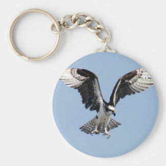 Flying Osprey Keychain