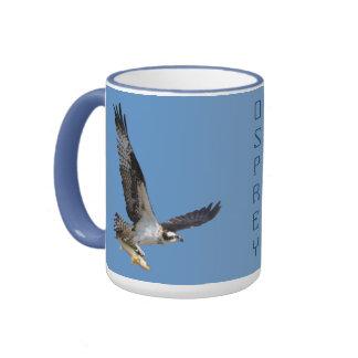 Flying Osprey & Walleye Wildlife Photography Mug