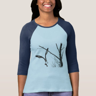 Flying Osprey Wildlife Fashion Series T-Shirt