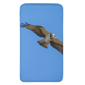 Flying osprey with a target in sight galaxy s5 pouch