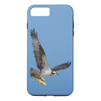 Flying Osprey with Fish iPhone 7 Plus Case
