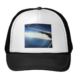 flying over america mesh hat