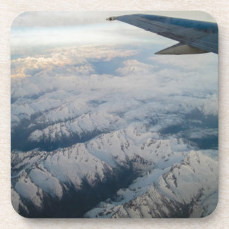 Flying Over Mountains Drink Coaster