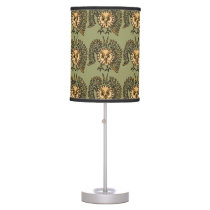 Flying Owl Art Abstract Lamp