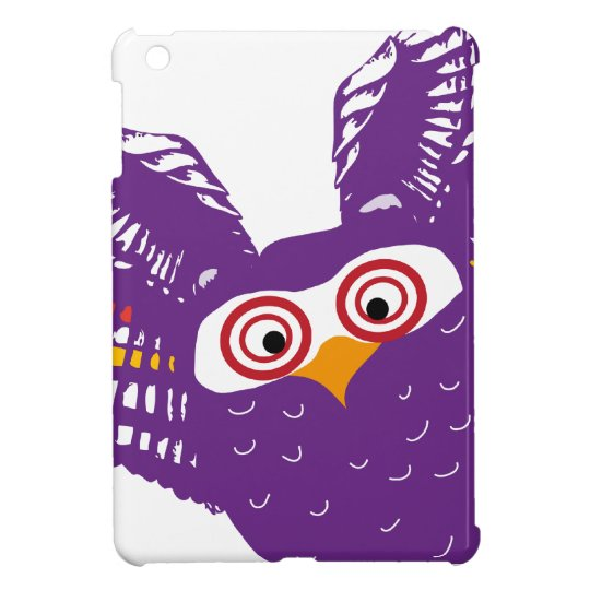 Flying owl cover for the iPad mini