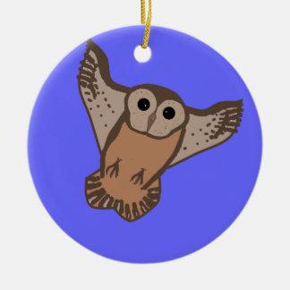 Flying Owl Ornaments