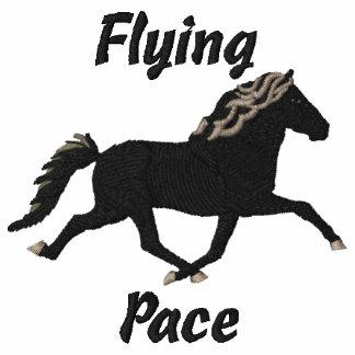 Flying Pace - Gletta Embroidered Sweatshirt