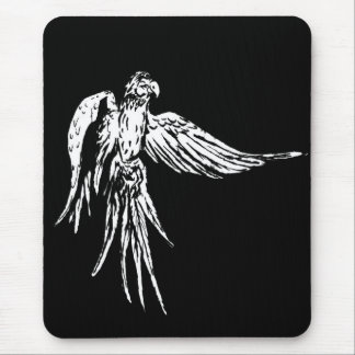 Flying Parrot Mouse Pad