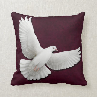 Flying Peace Dove Pillow