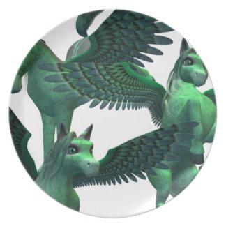 Flying Pegasus Dinner Plate