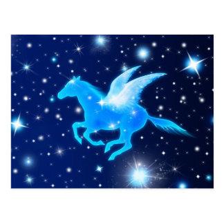 Flying Pegasus Post Card