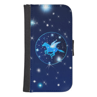 Flying Pegasus Samsung S4 Wallet Case