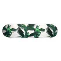 Flying Pegasus Skateboard Deck