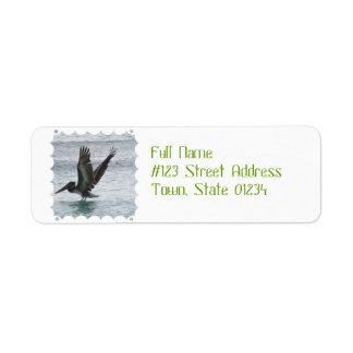 Flying Pelican Label