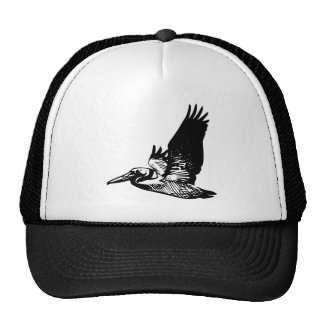 Flying Pelican Trucker Hat