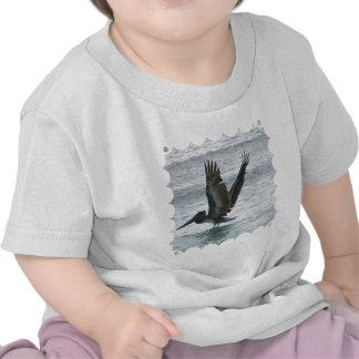 Flying Pelican T Shirt