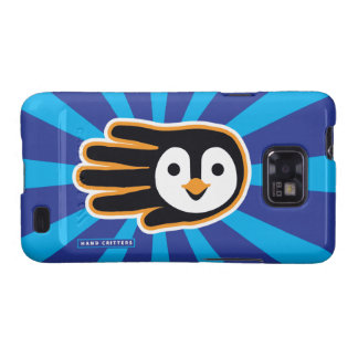 Flying Penguin Hand Galaxy S2 Cases