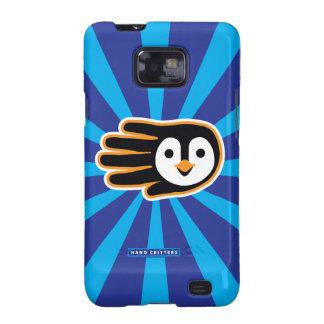 Flying Penguin Hand Samsung Galaxy S2 Case