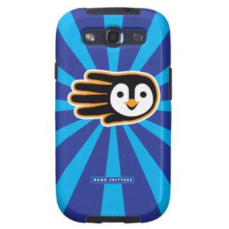 Flying Penguin Hand Samsung Galaxy S3 Case
