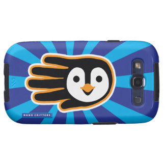 Flying Penguin Hand Samsung Galaxy S3 Cover