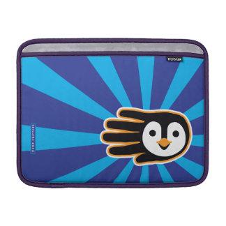 Flying Penguin Hand MacBook Sleeve