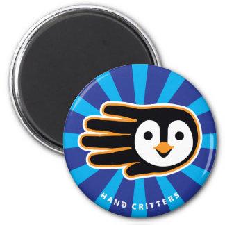 Flying Penguin Hand Magnet