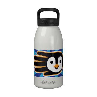 Flying Penguin Hand Water Bottle